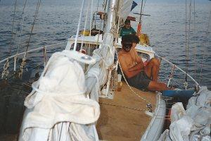 71 motor sailing