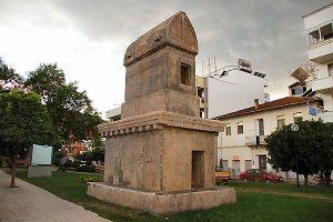 038 stone tomb
